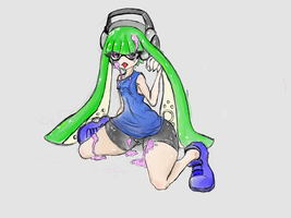 Inkling girl by pudding88