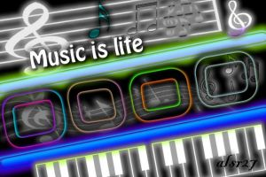 Music is life by Xalsr27X