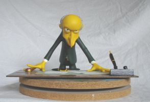 C. Montgomery Burns by lance-kramer