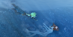 Cloud Help Aoi by KingdomHeartsNickey