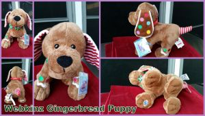 Webkinz Gingerbread Puppy by Vesperwolfy87