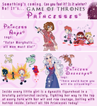 Game of Thrones PRINCESSES! by Thinston