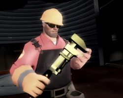 the man and his golden wrench by WitchyGmod