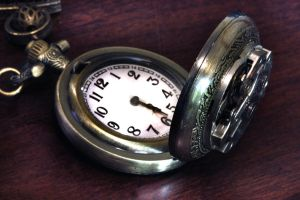 Steampunk Pocket Watch by CatherinetteRings