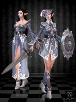 Bless Online - Elwing (custom female Elf) by Sticklove