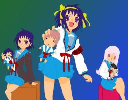 Road Suzumiya :Tereya: - Dolls by RoadMart