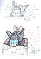 some cute little transformers Jazzes by Kittychan2005
