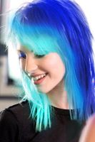 BLUE Hayley Williams by NathTheMirv