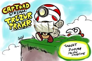 Captain Toad Treasure Tracker Stream! by AndrewDickman