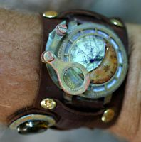 Watch mod closeup by TimBakerFX