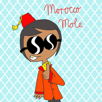 SS: Humanized Morocco Mole by ZootyCutie