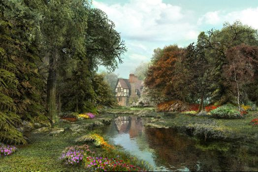 English Country Garden by DIGITAL-DOM