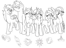Elements of Order Sketch by Wildnature03