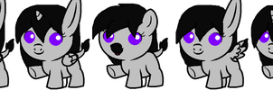 Donkey Breeds And Lil Cow 3/4 View by DuskWolf300