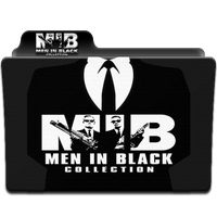 Men in Black Collection Folder Icon by wchannel96