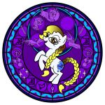 Stained Glass White Light vector -WIP- by Akili-Amethyst