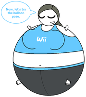 CM: Wii Inflate Trainer's Balloon Pose by Ambipucca