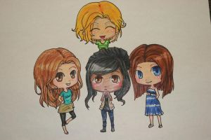 Some friends and I by Kuro-Mizuo
