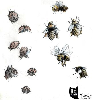 Bugs Sketches by Lapin-de-Fou