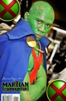 Martian Manhunter Cosplay by pinnoy2