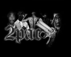 Tupac Shakur 2 by RodaDesigns