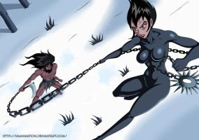 Samurai Jack - Jack vs Ashi by Imanimation