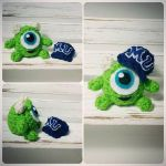 Kid Mike Wazowski Amigurumi by AnyaZoe
