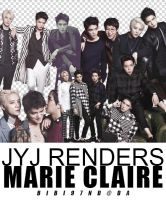 JYJ Renders Marie Claire by bibi97nd
