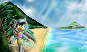Special Season Theme No. 42 - Summer Island breeze by Azurelly