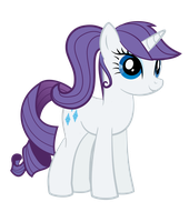 Rarity - One Ponytail More Doesn't Hurt by WildSoulWS
