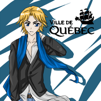 Quebec City Card by Misharoyuki