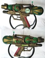 Bioshocker - Steampunk Pistol by Indirie