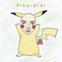 Pika-ard by FoRtheLoVeofCooKieS