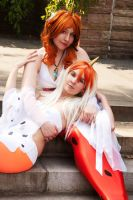 Goldeen and sea king by neoangelwink