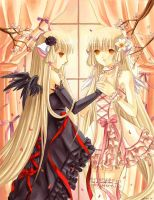 chobits by X-Chan-