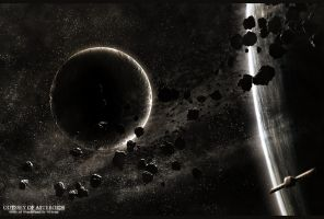 Odyssey of Asteroids by webby85