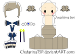 K Project Papercraft :Awashima by ChatarinaTSP