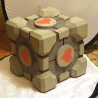 Weighted companion cube WIP by artbetep