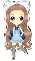 Alice, our Mascot ! by awdrie