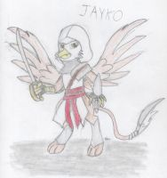 Jayko the Assassin (AC/MLP FIM OC) by BrogarArts
