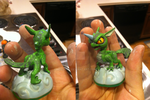 Skylanders: Custom Lizard Whirldwind by neilsugg