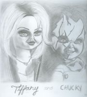 Tiffany And Chucky by LiannexSupernatural