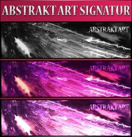 Abstrakt Art Signatur by F3rk3S