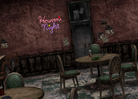 Heaven's Night Bar by a-m-b-e-r-w-o-l-f