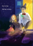 Doctor Who: Tell her a story by ky-nim