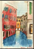 Moleskine Venice by rainbow-color
