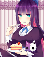 Stocking + Cake by deliciosaBerry