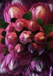 Abstract Protea by slinkyonion