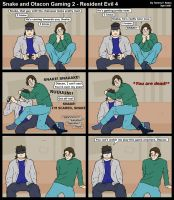 Snake and Otacon Gaming 2 by Ockeroid