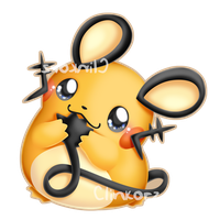 Dedenne by Clinkorz